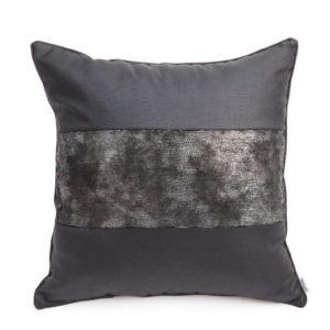 ANCIENT TEMPLES MEMOIRE BLACK 50x50cm Cushion Cover