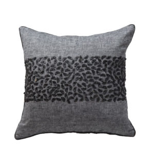 ANCIENT TEMPLES/A16 0074/CHARCOAL/EXPRESSION/50x50cm CUSHION COVER