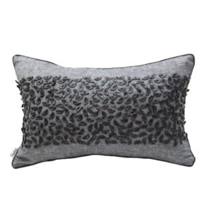 ANCIENT TEMPLES EXPRESSION CHARCOAL 50x30cm Cushion Cover