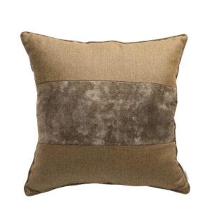 ANCIENT TEMPLES MEMORIE BROWN 50x50cm Cushion Cover
