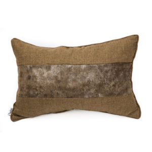 ANCIENT TEMPLES/A16 0069/BROWN/MEMOIRE-SNAKE/50x30cm CUSHION COVER