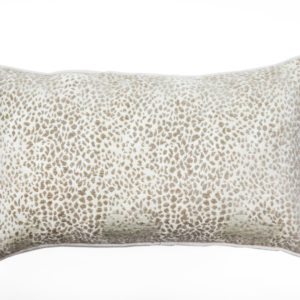 ANCIENT TEMPLES/A16 0083/LIMESTONE/JAGUAR/50x30cm CUSHION COVER