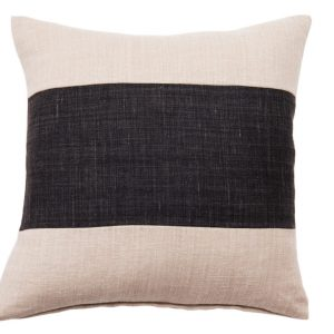 NATURE/B18 0331/BEIGE,BLACK/SALTINAT/50X50CM CUSHION