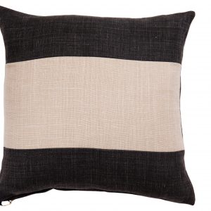 NATURE/B18 0332/BLACK,BEIGE/SALTINAT/50X50CM CUSHION