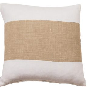 NATURE/B18 0334/WHITE,BEIGE/SALTINAT/50X50CM CUSHION