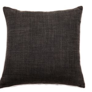 NATURE/B18 0336/BLACK/SALTINAT/50X50CM CUSHION