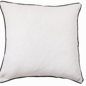 NATURE/B18 0337/WHITE/SALTINAT/50X50CM CUSHION
