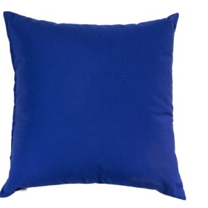 ALFRESCO/C19 0366/CHINCHILA-COBALT/OUTDOORS/50x50cm CUSHION COVER