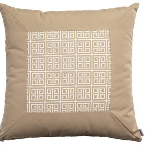 ALFRESCO/C19 0368/CARAMEL/EXTERNAL-OUTDOORS/60x60cm CUSHION COVER