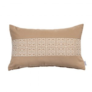 ALFRESCO/C19 0369/CARAMEL/EXTERNAL-OUTDOORS/50x30cm CUSHION COVER