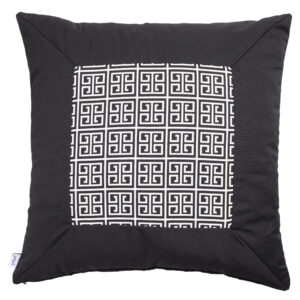 ALFRESCO/C19 0371/LIQUORICE/EXTERNAL-OUTDOORS/60x60cm CUSHION COVER