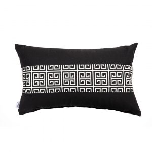 ALFRESCO/C19 0372/LIQUORICE/EXTERNAL-OUTDOORS/50x30cm CUSHION COVER