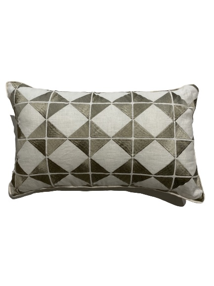 ANCIENT TEMPLES/A16 0086/SAND/OUVRAGE-GEO/50x30cm CUSHION COVER