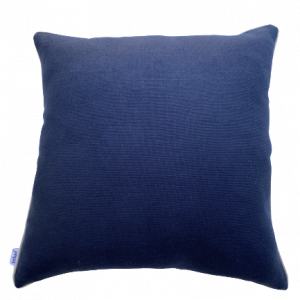 NATURE/B18 0376/HAVEN/NAVY BEIGE PIPING/50x50cm CUSHION COVER