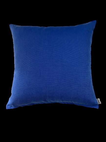 COASTAL HAMPTONS/B18 0380/SCRUB/OCEAN BLUE/50x50cm CUSHION COVER