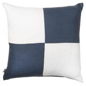COASTAL HAVEN/SULTANAT AGEAN BLUE/WHITE 60x60cm Cushion Cover