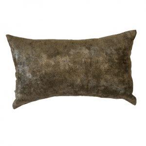 ANCIENT TEMPLE MEMOIRE BROWN 50x30cm Cushion Cover