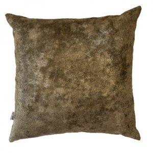 ANCIENT TEMPLE MEMOIRE BROWN 50x50cm Cushion Cover