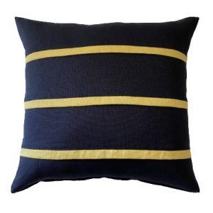COASTAL HAVEN NAVY/CORN 60x60cm Cushion Cover